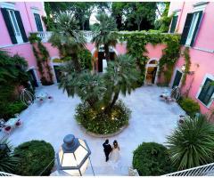 Villa Ciardi - Il cortile interno