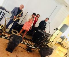 Gruppo Taeda Band per matrimoni - La performance del quartetto