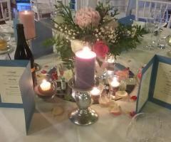 Opere di fata - Allestimento con candele