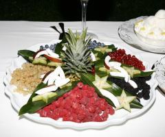 Villa Posillipo - Composizione di frutta per il matrimonio