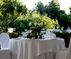 Tavolo per gli invitati al matrimonio