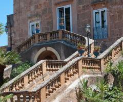Villa Boscogrande - Scalinata d'ingresso alla villa
