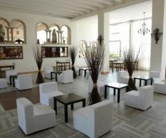 Castello Miramare - Sala conversazione all\'interno della location