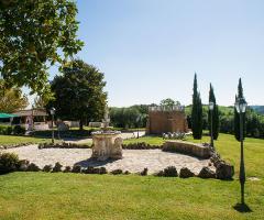 Villa Valente - Il panorama dai giardini