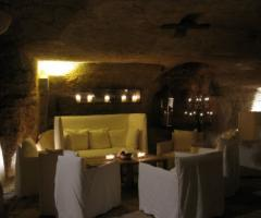 Masseria Torre Coccaro - Lounge del Frantoio per gli ospiti alle nozze