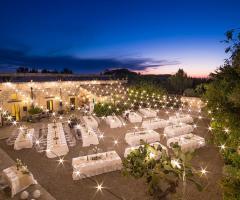 Masseria San Lorenzo - La corte dall'alto