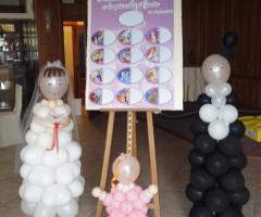 Il Punto Esclamativo -  I personaggi con i palloncini