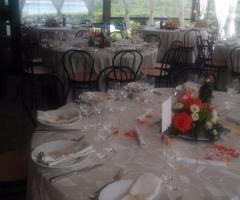 Borgo La Fratta - Una vista dei tavoli