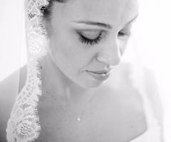 Attimi autentici - La sposa in primo piano