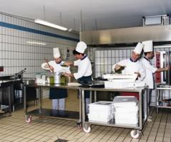 Cucina della location di matrimonio