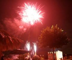 Villa Valente - Fuochi d'artificio per il matrimonio a Roma