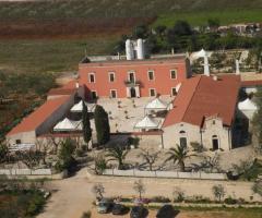 Masseria Cariello Nuovo - Vista dall'alto della masseria
