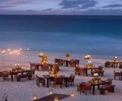 Enea Palace - Allestimento in spiaggia