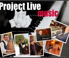 Project Live Music - Animazione per il matrimonio a Bari e in tutta la Puglia