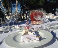 Guna Beach Club - I dettagli della tavola