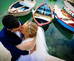 Michele Manicone Fotografia - Gli sposi si baciano