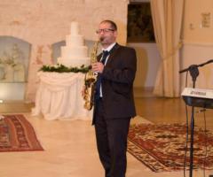 Musica durante un matrimonio in Puglia