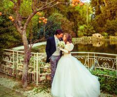 Servizio fotografico di matrimonio presso la location