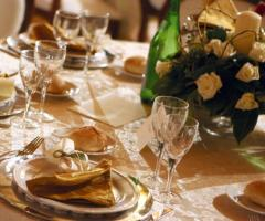 Tenuta Montenari - Mise en place elegante per il matrimonio