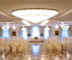 Sala interna della location di nozze