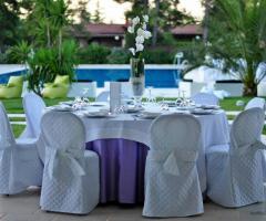 Murgia Garden Ricevimenti - Il tavolo degli invitati