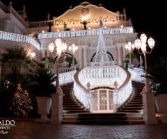 Lo Smeraldo Ricevimenti - Addobbo con il White Christmas