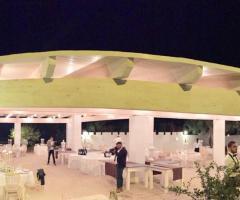 Casale del Murgese - Il ricevimento di nozze serale