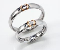 Biffi Gioielli - Fedi in oro bianco con diamantino