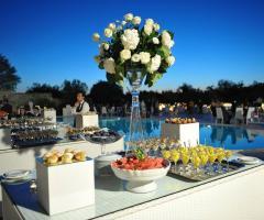 Masseria Traetta Exclusive - Dolci e frutta a bordo piscina