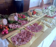 Borgo La Fratta - Il tavolo degli antipasti