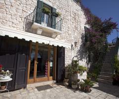 Masseria Montepaolo - L'ingresso della sala ristorante