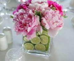 Opere di fata - Centrotavola in rosa