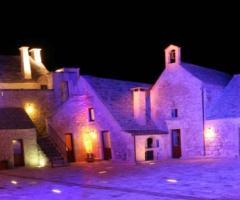 Masseria Bonelli - La masseria di sera