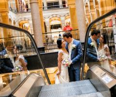 Servizio fotografico degli sposi