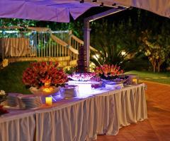 Villa Espero - Buffet per ricevimenti all'aperto