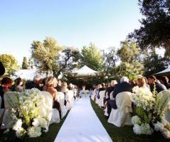 Masseria Montalbano - Il rito civile