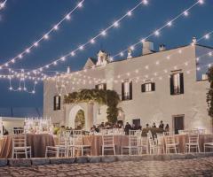 Masseria Luco - Matrimonio di sera