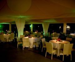 Villa Posillipo - Ricevimento di matrimonio serale a bordo piscina