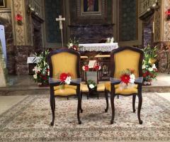 Bang Bang Wedding - Alcune decorazioni in chiesa
