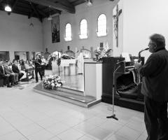 In chiesa con il sax!