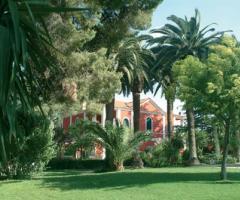 Parco che circonda tutta la location