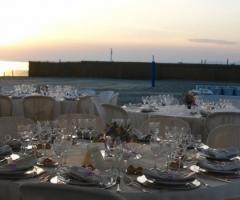 Castello Miramare - Allestimento per il ricevimento di matrimonio