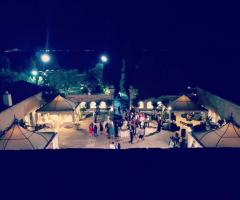 Masseria Cariello Nuovo - La festa di nozze vista dall'alto