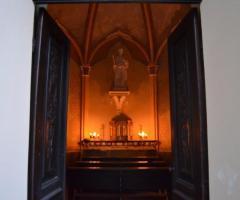 Castello di Cortanze - La chiesa del castello