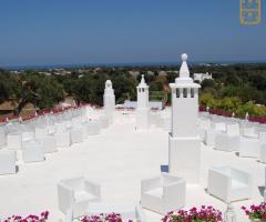 Il Trappetello - La terrazza vestita di bianco