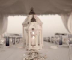 Allestimento del matrimonio tema mare