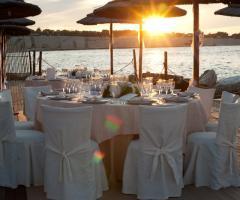 Ricevimento sulla spiaggia in Puglia