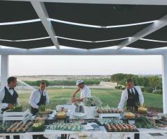 Masseria Torre di Nebbia - Il tavolo degli antipasti