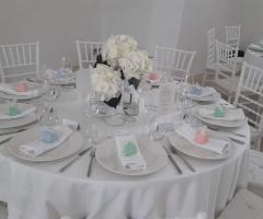 Villa Cenci - Allestimento in bianco