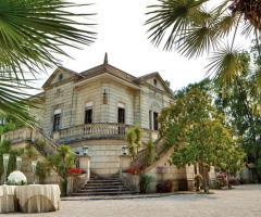 Villa in stile liberty per il matrimonio